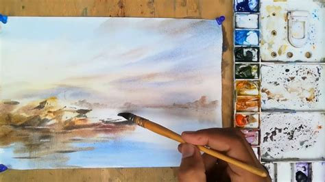 watercolor river tutorial 69 best mkazmi watercolor images on pinterest watercolor