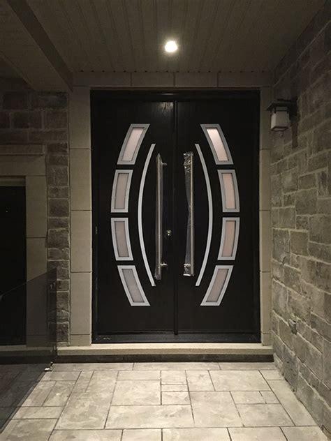custom design modern doors  arched designed door lites