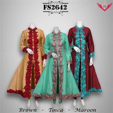 Gamis Terbaru Fika Shop fika shop baju pesta dan baju gamis 3 model baru per hari