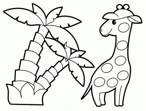 printable untuk anak 20 gambar mewarnai hewan untuk anak paud dan tk