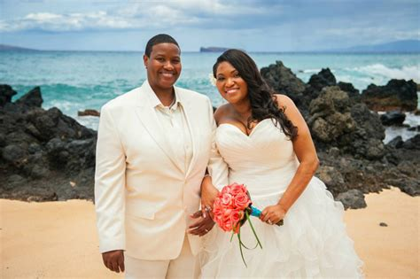 Hawaiian Island Lesbian and Gay Wedding Packages   Purple Orchid Wedding Planners