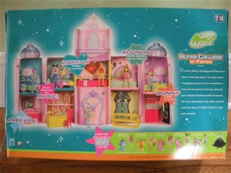 winx club doll house winx doll house winx club mini fairies castle doll house alfea college