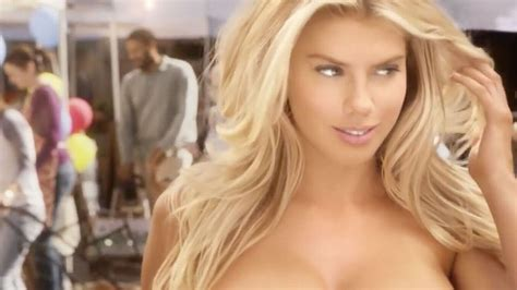 charlotte mckinney  naked  raunchy burger ad