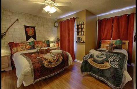 create  harry potter themed childs bedroom
