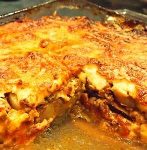 people places and the palatable eggplant casserole
