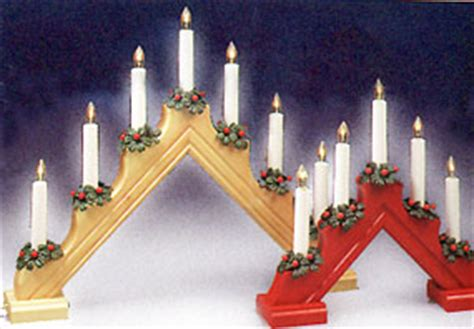 5 light christmas window candelabra swedish electric 5 light and 7 light candelabras