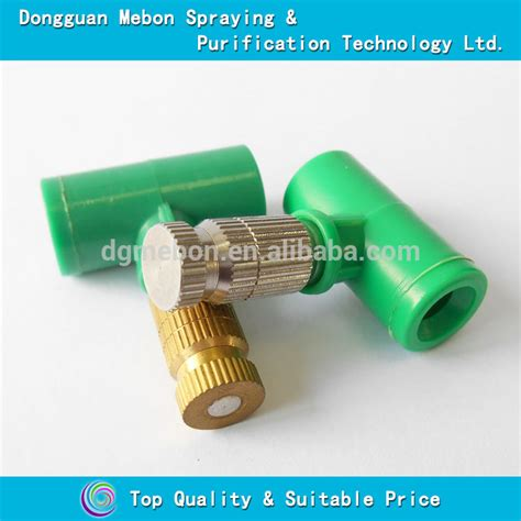 Jual Nozzle Spray Mist water mist spray nozzle outdoor cooling nozzle micro fog