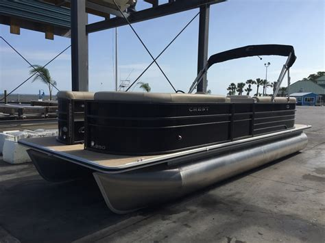 crest pontoon boats crest pontoon boats crest ii boats for sale boats