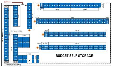 mini storage layout and design self storage rates sunnyhill properties chambersburg pa