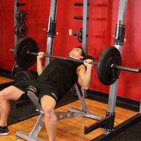 correct incline bench press form exercise of the week incline barbell bench press