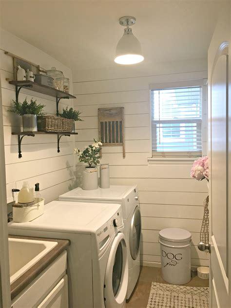 rustic laundry room reveal raising rustic