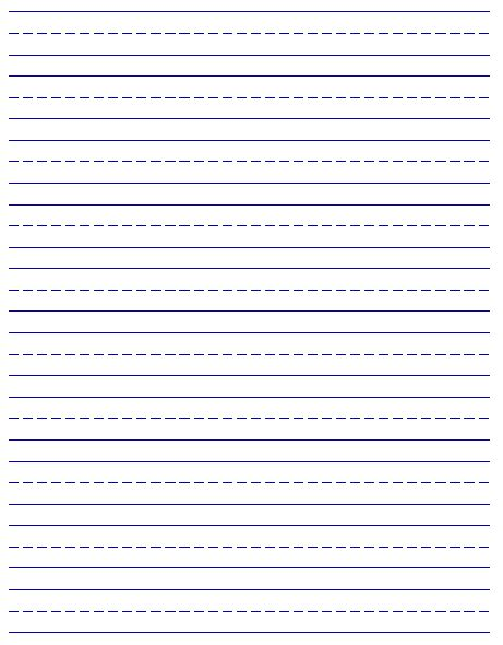 printable handwriting paper new calendar template site