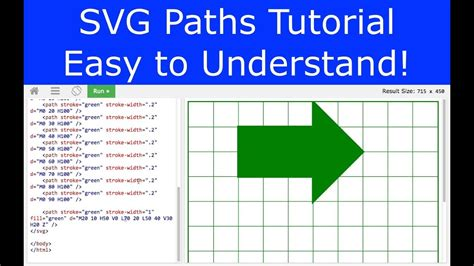 svg pattern along path svg path tutorial easy to understand youtube