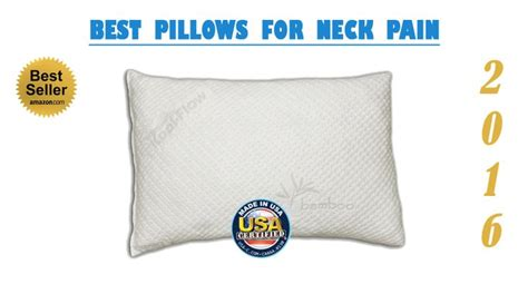 Best Pillow For A Sore Neck by 1000 Images About Neck Help On Sleep The