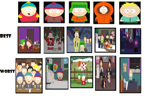 south park best episodes my best and worst south park episodes by character by