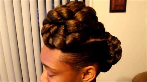 faux bun hairstyles elegant faux bun mohawk semi tutorial lol youtube
