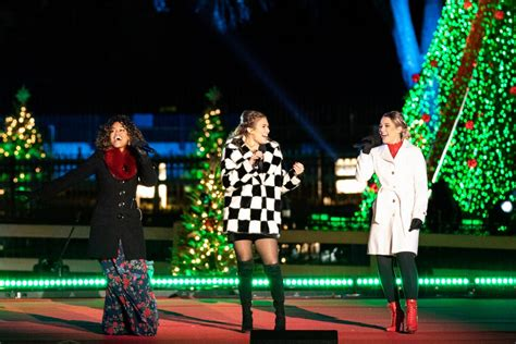 and attend national tree lighting