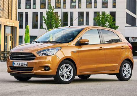 ford ka 5 porte nuova ford ka 2017 prezzi motori e caratteristiche