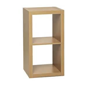 oak cube shelves wilko oslo 2 tier shelving unit oak effect at wilko