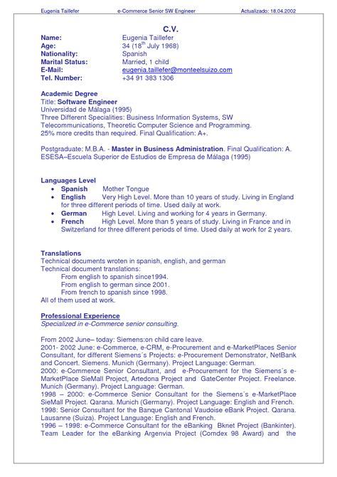 resume  cvs resumes cvs