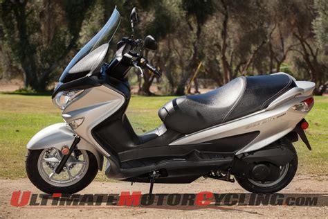 Suzuki Burgman 200 by 2014 Suzuki Burgman 200 Ride Review