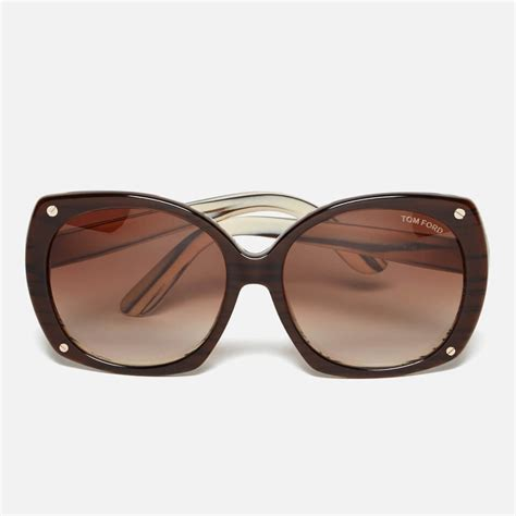The Sunglasses Of 2007 Tom Ford by Tom Ford S Gabriella Sunglasses Brown Free Uk
