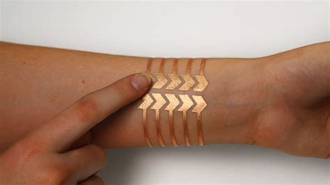 smart tattoo mit and microsoft research made a smart that
