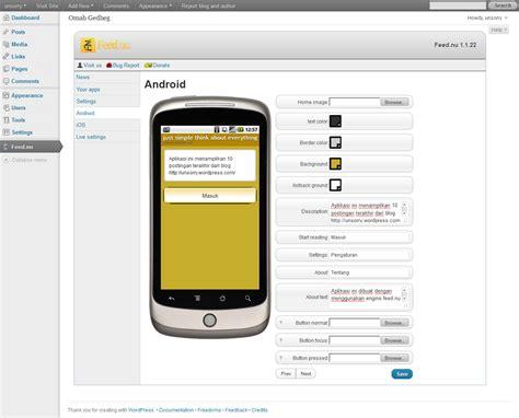 membuat blog dari android membuat aplikasi blog untuk android tanpa bahasa
