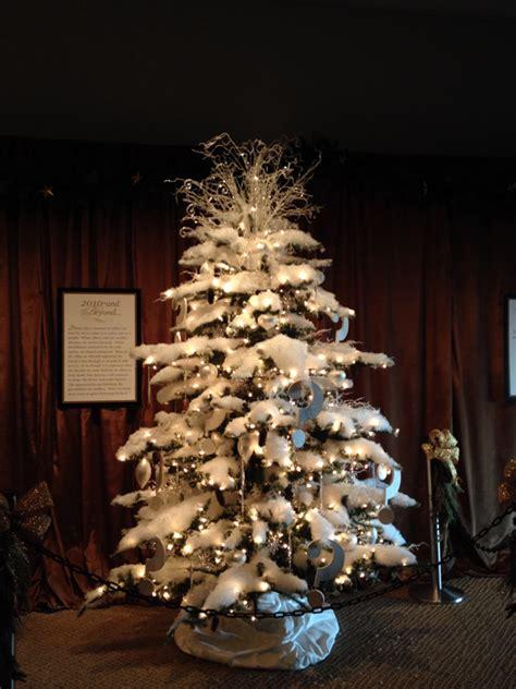 american christmas trees at the reagan library