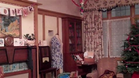 1940 Kitchen Design by The 1940s House Decorated For Christmas Youtube