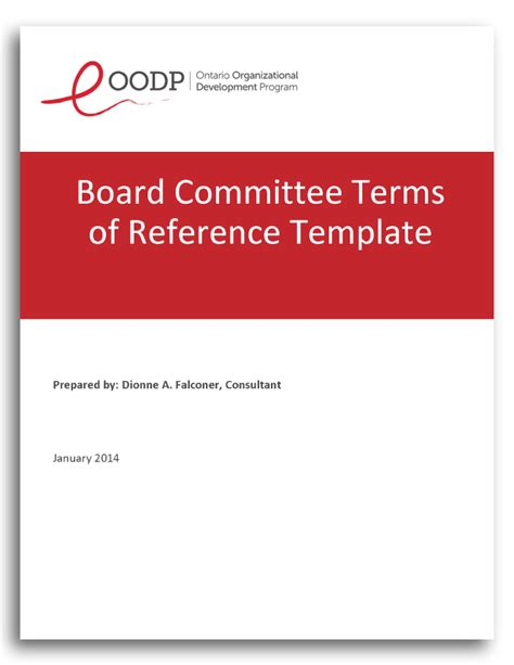 pmo terms of reference template images templates design