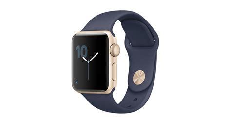 Apple Series 1 Aluminum Goldmidnight Blue Sport Band 42mm apple gold aluminum with midnight blue sport band apple
