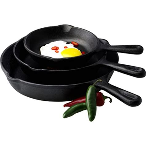Madame Chef Frypan Set 3 Pcs essential home 3pc fry pan set