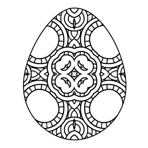 easter egg coloring pages  adults  getcoloringscom