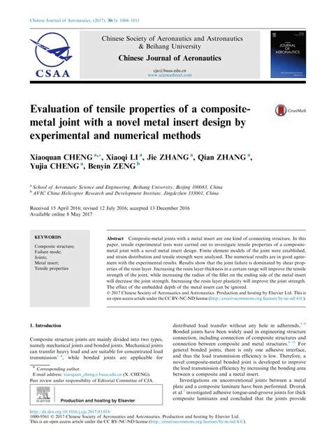 results of an experimental inquiry into the tensile strength and other properties of various kinds of wrought iron and steel classic reprint books evaluation of tensile properties of a composite metal