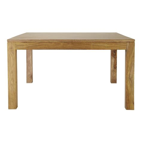 sheesham wood dining table solid sheesham wood dining table w 140cm stockholm maisons du monde