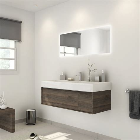 Merveilleux Leroy Merlin Salle De Bain Neo #3: meuble-de-salle-de-bains-plus-de-120-brun-marron-neo-frame.jpg