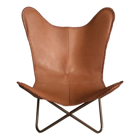 butterfly leather chair ashton brown leather butterfly chair industrial chic style furniture oli grace