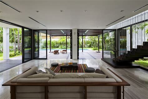 open plan living house designs thao dien house open plan with living walls modern house designs