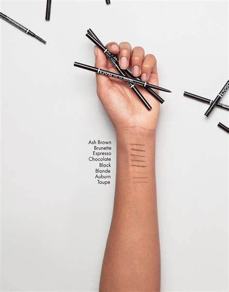 Nyx Micro Bro Pencil nyx nyx micro brow pencil at asos