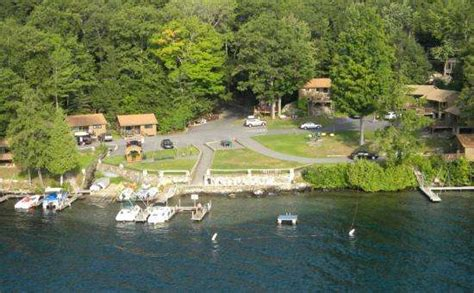 sailboat rental lake george candlelight cottages waterfront cabins cottages for