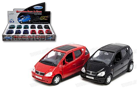 Welly Mercedes A Class welly 1 38 display mercedes a class mj toys inc