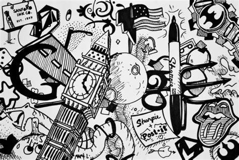 Line Swag Putih aniversario im 225 genes de doodles hechas por