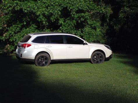 subaru outback black rims subaru outback 2012 with cool black rims painted with