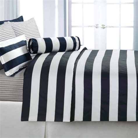 navy and white striped bedding navy and white striped duvet cover home furniture design