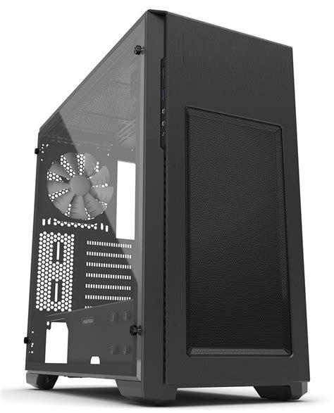 Dijamin Phanteks Enthoo Pro M Acrylic Black Phanteks Announces Enthoo Pro M Acrylic Window Edition