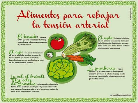 alimentos prohibidos hipertension alimentos para rebajar la tensi 243 n arterial infograf 237 as y