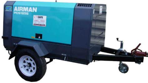 Jual Air Compressor jual air compressor airman pds185s harga dan spesifikasi