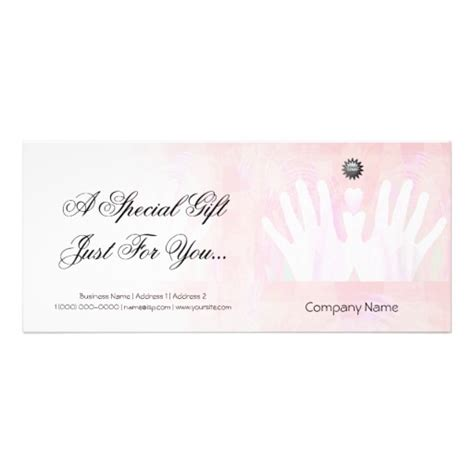 templates for massage gift certificates best photos of massage gift certificate template