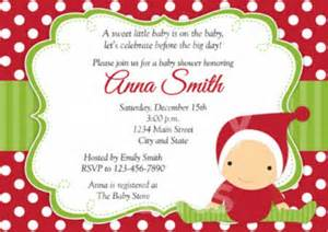 Backyard Baby Shower Ideas Christmas Baby Shower Invitations Baby Shower For Parents